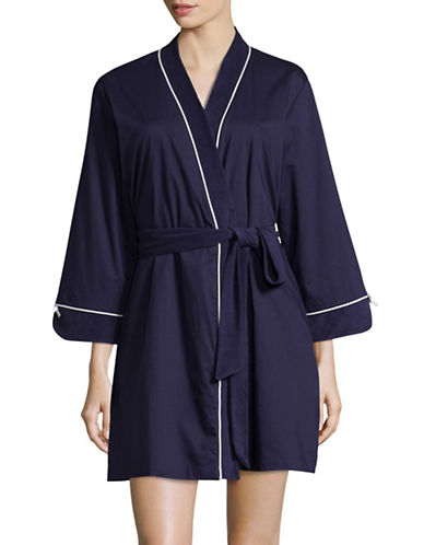 Kate Spade New York Dream On Robe-BLUE-Large/X-Large