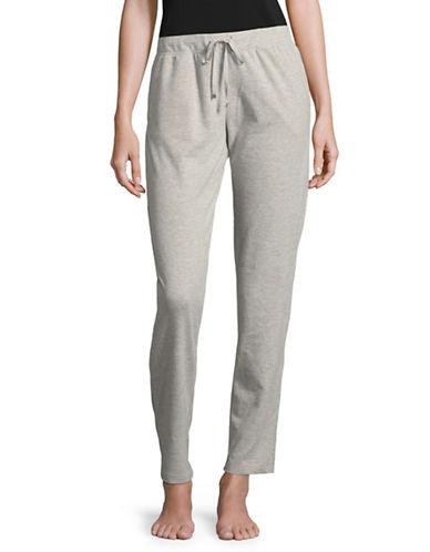 Lauren Ralph Lauren Classic Pajama Pants-GREY-Medium 89544115_GREY_Medium
