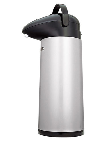 Thermos 1.9L Stainless Steel Pump Pot-SILVER-One Size
