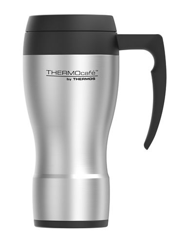 Thermos Foam Insulated Stainless Steel Travel Mug-STAINLESS STEEL-One Size