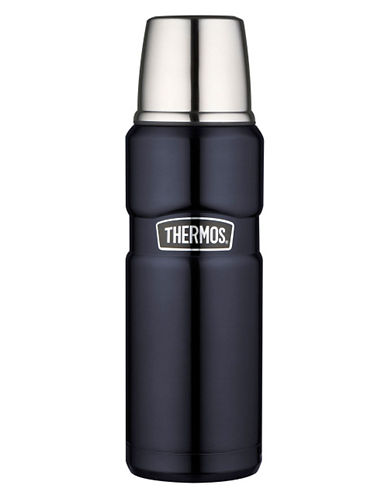 Thermos Stainless King 470 ml Briefcase Bottle-MIDNIGHT BLUE-One Size