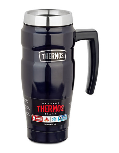 Thermos Stainless Steel King Travel Mug-SILVER-One Size