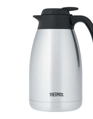 Thermos Stainless Steel Vacuum 1.5- Litre Carafe-STAINLESS STEEL-1.5