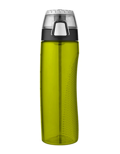 Thermos Hydration Bottle with Rotating Meter-GREEN-One Size