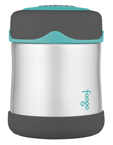 Thermos Insulated Stainless Steel 290ml Food Jar-BLUE-One Size