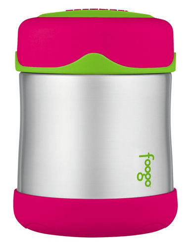Thermos Insulated Stainless Steel 290ml Food Jar-PINK-One Size