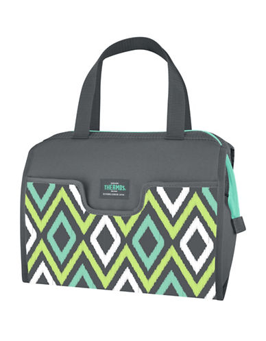 Thermos Insulated Slip Lunch Duffle-GREEN-One Size