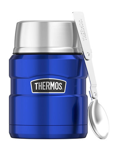 Thermos Vacuum Insulated Stainless Steel Food Jar-ROYAL BLUE-One Size