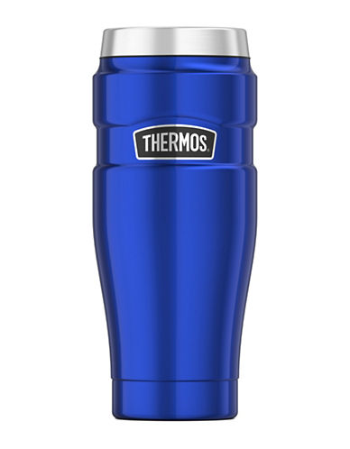 Thermos Vacuum Insulated Stainless Steel Travel Tumbler-ROYAL BLUE-One Size
