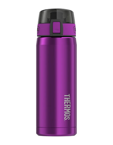 Thermos Vacuum Insulated Stainless Steel Hydration Bottle-AUBERGINE-One Size