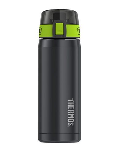 Thermos Vacuum Insulated Stainless Steel Hydration Bottle-SMOKE-One Size