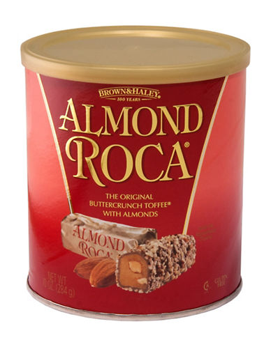 Brown Haley Almond Roca Buttercrunch Toffee Canister-NO COLOUR-One Size