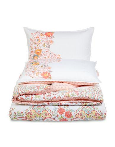 Jessica Simpson Sabine Three-Piece Comforter Set-MULTI-King