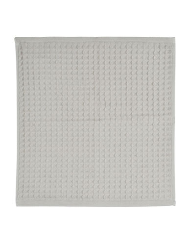 Uchino Waffle Cotton Wash Cloth-GREY-Washcloth