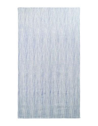 Uchino Twist Stripe Hand Towel-IVORY/BLUE-Hand Towel