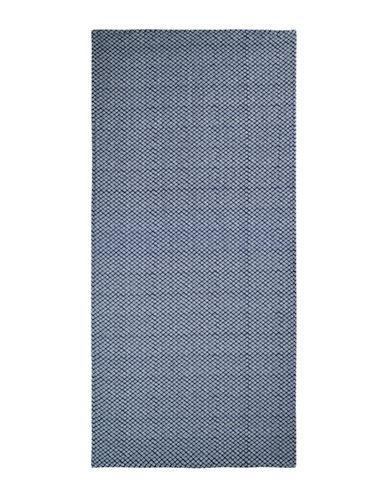 Uchino Twist Hishi Bath Towel-DARK BLUE-Bath Towel