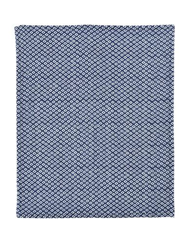 Uchino Twist Hishi Wash Towel-DARK BLUE-Washcloth
