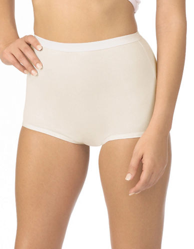 Jockey Silks Full Brief Panties-IVORY-9