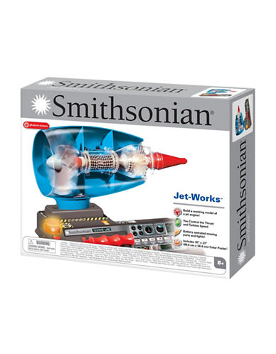 Smithsonian Jet Works Set-MULTI-One Size
