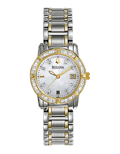 Bulova Women's Quartz Watch silver One Size