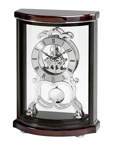 Bulova Wentworth Wood Pendulum Mantel Clock-CHERRY-One Size
