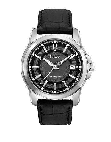 Bulova Mens Precisionist Watch-BLACK-One Size