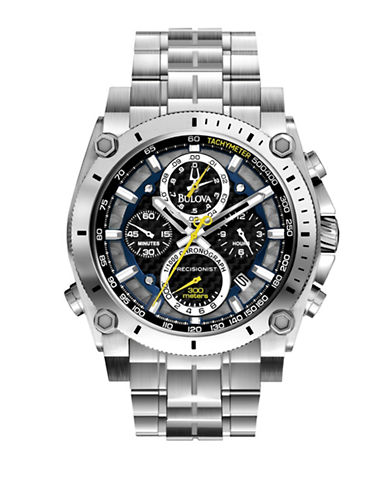 Bulova Bulova Mens Precisionist Chronograph-BLACK-One Size