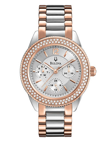 Bulova Ladies Two Tone Dress Watch-TWO TONE-One Size