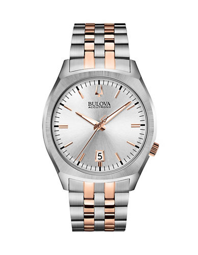 Bulova Accutron II Two-Tone Stainless Steel Watch-TWO TONE-One Size