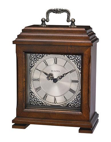 Bulova Document Clock-WALNUT-One Size
