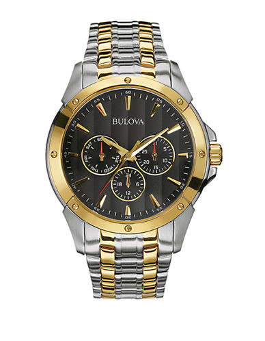Bulova Mens Sport Collection Oversized 98C120-TWO TONED-One Size