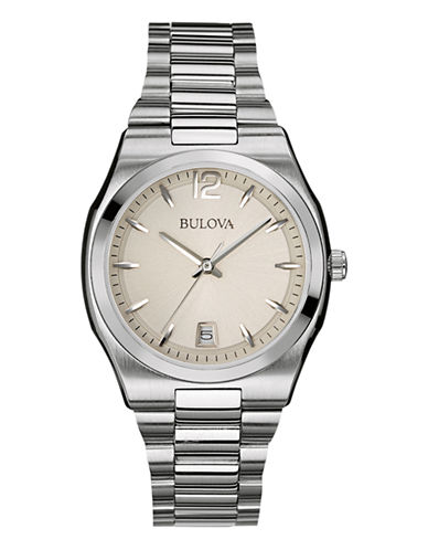 Bulova Womens Classic Collection Standard 96M126-WHITE-One Size