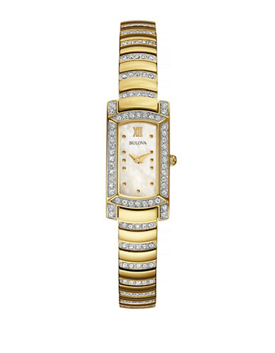 Bulova Womens Petite 98L204-YELLOW-One Size