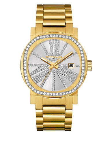 Wittnauer Analog Goldtone Adele Bracelet Watch-GOLD-One Size