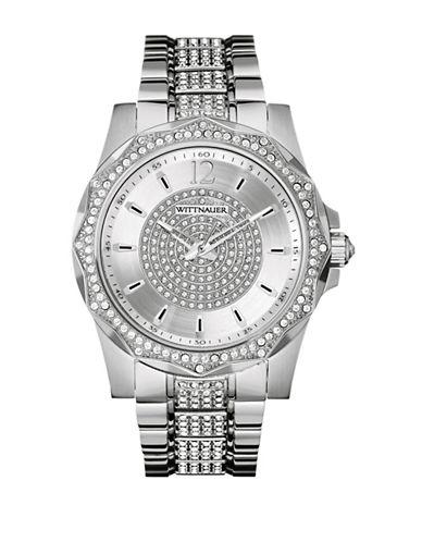 Wittnauer Elvis Analog Silvertone Watch-SILVER-One Size