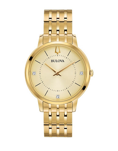 Bulova Classic 97P123 Bracelet Watch-GOLD-One Size