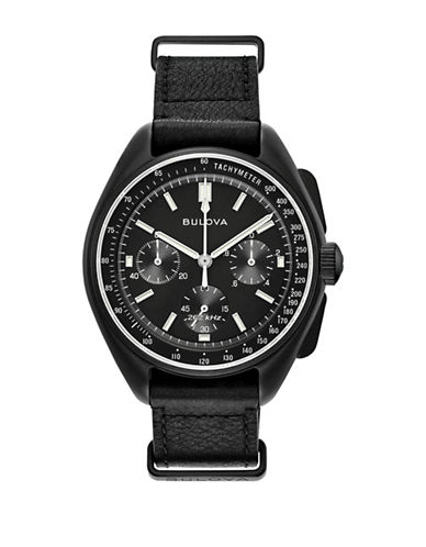 Bulova Special Edition Chronograph 98A186 Strap Watch-BLACK-One Size