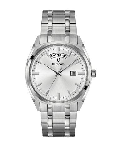 Bulova Classic 96C127 Bracelet Watch-WHITE-One Size
