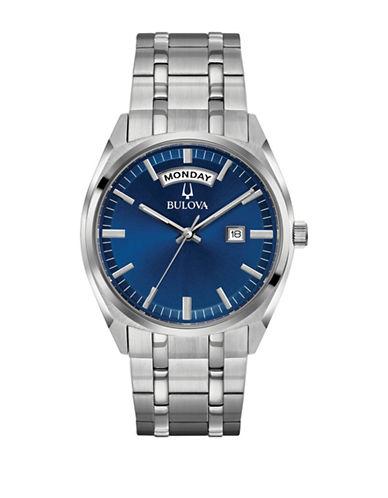 Bulova Classic 96C125 Bracelet Watch-WHITE-One Size