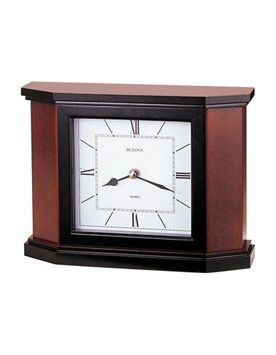 Bulova Holyoke Wood Mantel Clock-CHERRY-One Size
