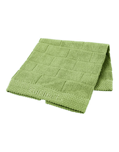Cuisinart Tile Two-Piece Cotton Dish Cloth Set-AQUA-One Size