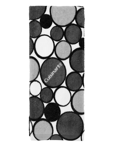 Cuisinart Geo-Print Kitchen Towel-GREY-Kitchen Towel