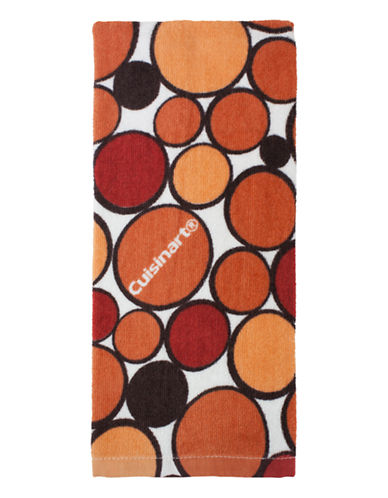 Cuisinart Geo-Print Kitchen Towel-ORANGE-Kitchen Towel