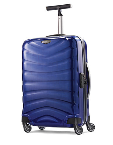 Samsonite Black Label Firelite 20 Inch Hardside Spinner-BLUE-20