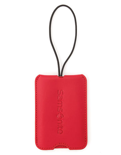 Samsonite ID Tags-RED-One Size