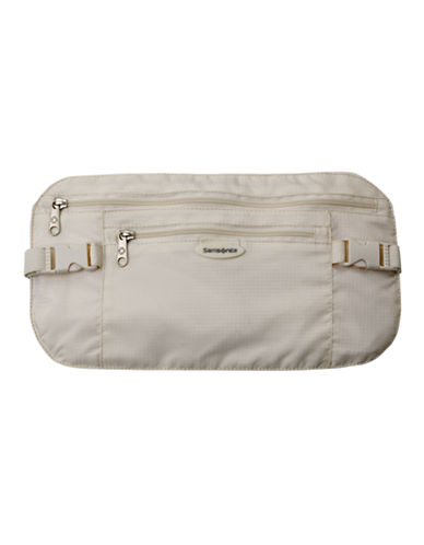 Samsonite Waist Belt-CREAM-One Size