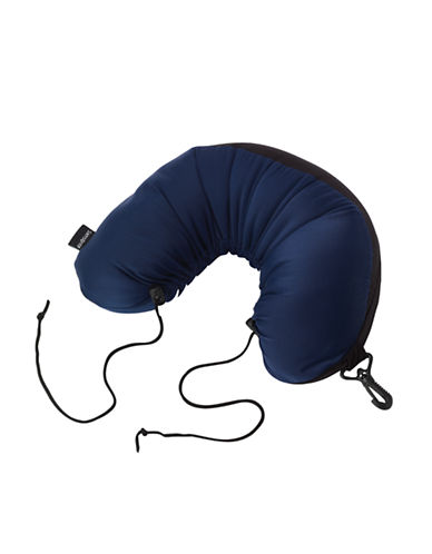 Samsonite Microbead Neck Pillow-BLUE-One Size