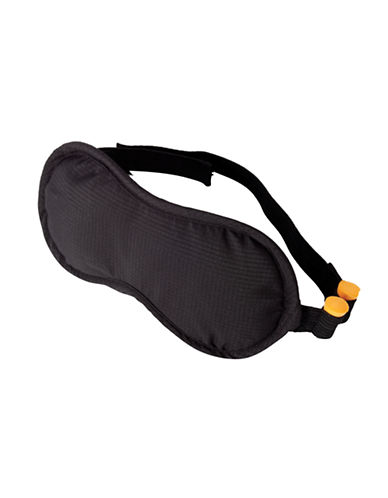 Samsonite Eye Mask with Ear Plugs-BLACK-One Size