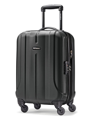Samsonite Fiero 20-Inch Expandable Spinner-BLACK-20