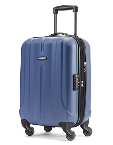 Samsonite Fiero 20 Expandable Spinner Suitcase-BLUE-20